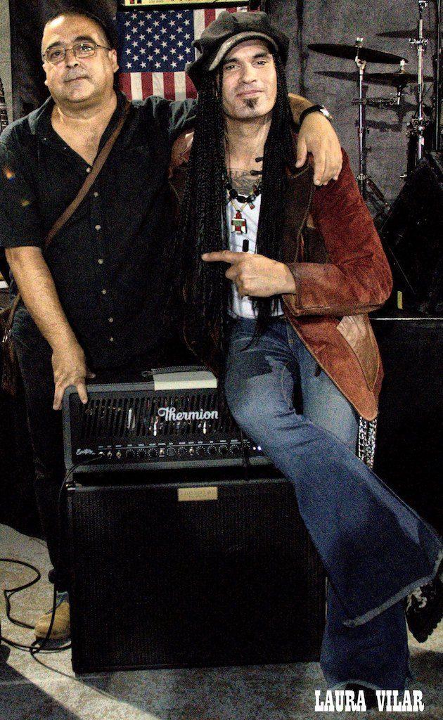 Jorge Lario y Eric Sardinas
