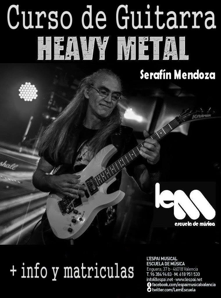 Curso de guitarra Heavy Metal
